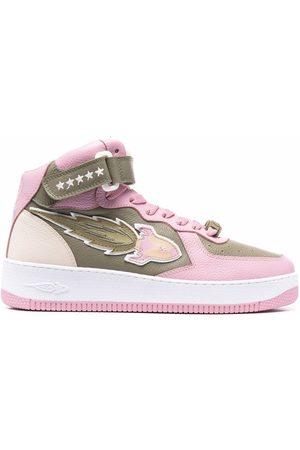 ENTERPRISE JAPAN EJ Rocket mid-high lace-up sneakers
