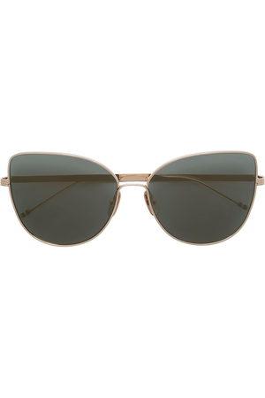 Thom Browne Sonnenbrillen - TB121 cat-eye frame sunglasses