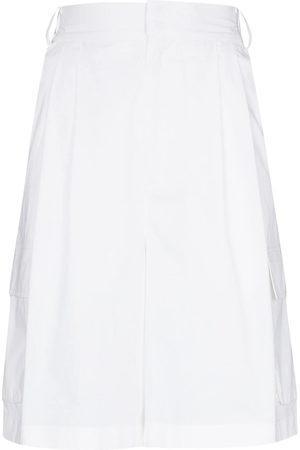 tibi Damen Shorts - High-rise tailored shorts