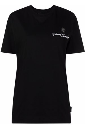 Philipp Plein Heart Breaker round-neck T-shirt