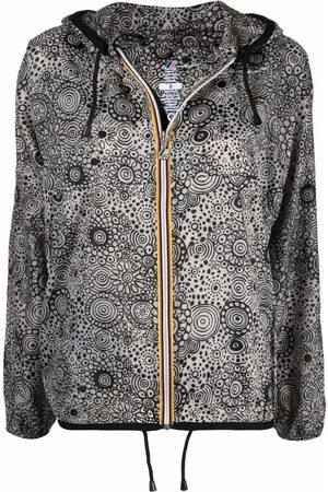 10 CORSO COMO Parkas - X K-Way paisley-print raincoat