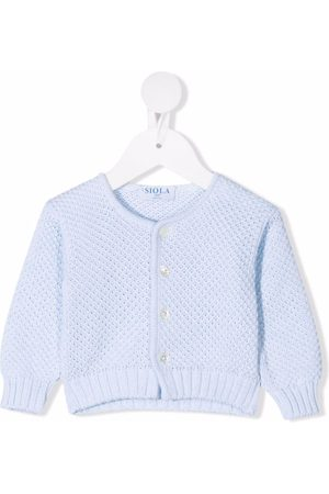 Siola Open-knit buttoned cardigan
