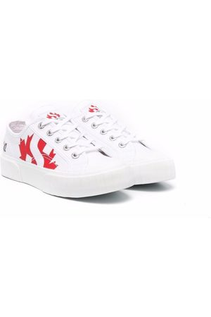 Dsquared2 Kids Schnürschuhe - Maple leaf lace-up sneakers