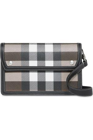 Burberry Check-print shoulder bag