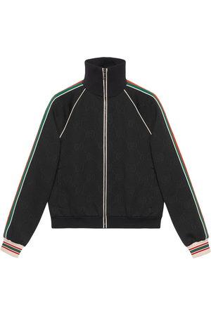 Gucci GG-jacquard jersey track jacket