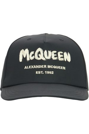 Alexander McQueen Baseballkappe Aus Nylon Mit Graffiti-logo