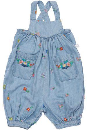 Stella McCartney Damen Jumpsuits - Overall Aus Besticktem Lyocelldenim