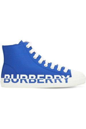 Burberry Herren Sneakers - Sneakers Aus Baumwolle Mit Logo