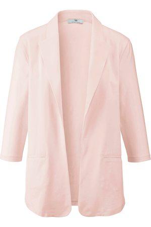Peter Hahn Damen Blazer & Sakkos - Jersey-Blazer 3/4-Arm rosé