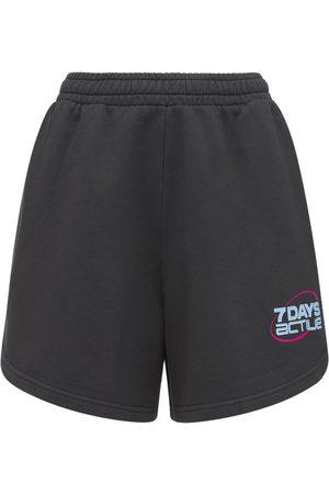 7 DAYS ACTIVE Damen Shorts - Trainingsshorts Aus Baumwolle