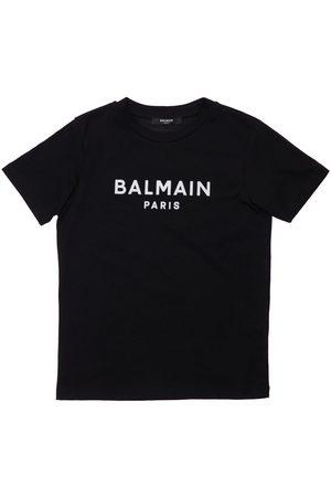 BALMAIN T-shirt Aus Bio-baumwolle