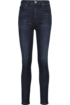 Citizens of Humanity Damen High Waisted - High-Rise Skinny Jeans Chrissy