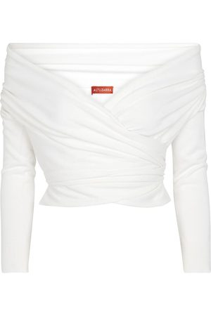 Altuzarra Off-Shoulder-Pullover Crawley