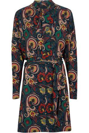 Etro Hemdblusenkleid mit Paisleymuster
