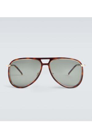 Saint Laurent Aviator-Sonnenbrille aus Acetat