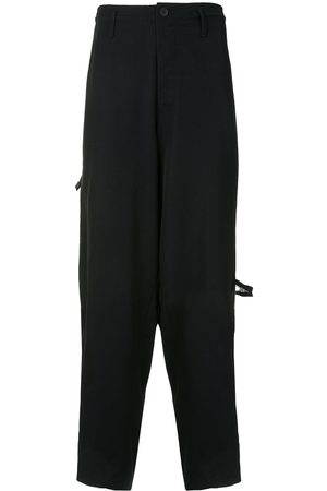YOHJI YAMAMOTO Herren Weite Hosen - Wide-leg tailored trousers