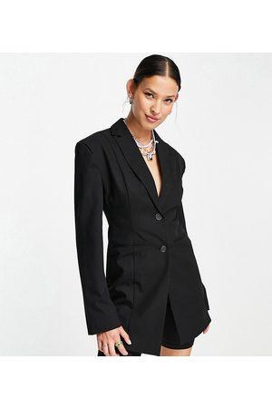 COLLUSION Fitted blazer in black