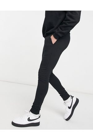 ASOS DESIGN Organic blend super skinny joggers in grey marl