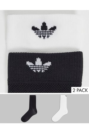 adidas 2 pack structured socks in multi