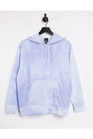 Nike Damen Sweatshirts - Icon Clash tie dye hoodie in blue