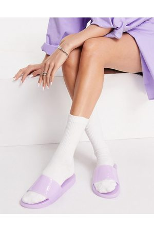 South Beach Jelly slides in lilac-Purple