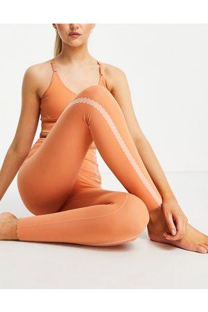 Nike Nike Yoga luxe eyelet 7/8 leggings in