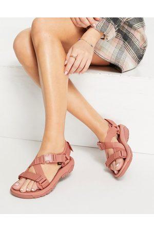 Teva Hurricane Verge chunky buckle sandals in pink