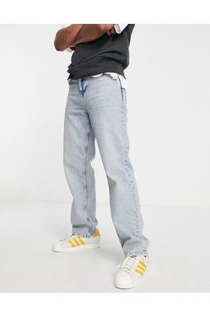 ASOS Herren Straight - Relaxed jeans in light wash-Blue