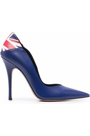 ALEKSANDER SIRADEKIAN Damen Pumps - UK Flag pointed-toe pumps