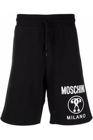 Moschino Herren Shorts - Double Question Mark bermuda shorts