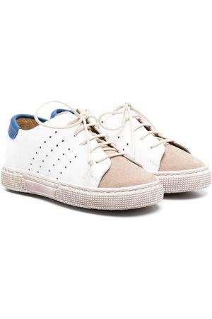 PèPè Colour-block lace-up sneakers