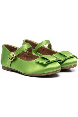 Age of Innocence Ellen bow-detail ballerina shoes