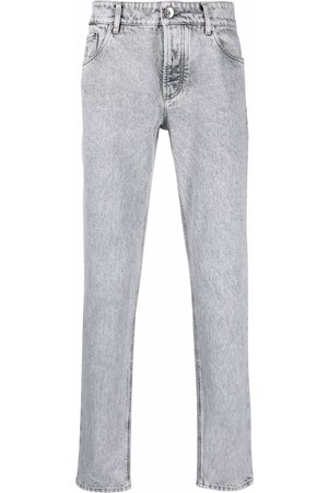 Brunello Cucinelli Stonewashed slim-fit trousers
