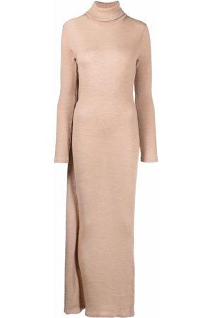 MM6 MAISON MARGIELA Roll neck knitted maxi dress