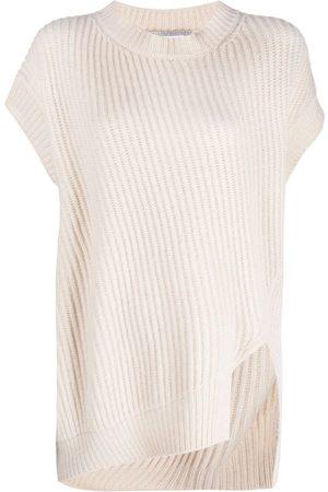 Stella McCartney Rib-knit short-sleeve jumper