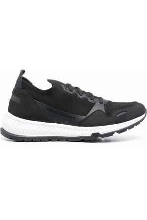 Emporio Armani Two-tone lace-up sneakers