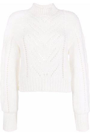 RED Valentino Pointelle-knit jumper