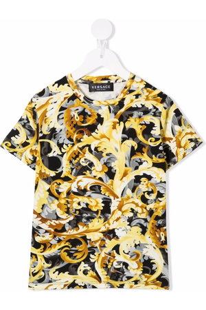 VERSACE Baroque print short-sleeve T-shirt