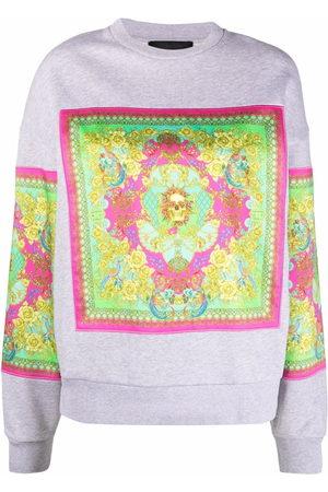 Philipp Plein New Baroque print sweatshirt