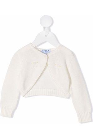 SIOLA Strickjacken - Embroidered knitted cardigan