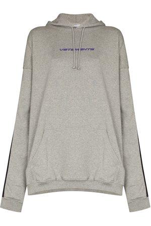 Vetements Logo-tape hoodie