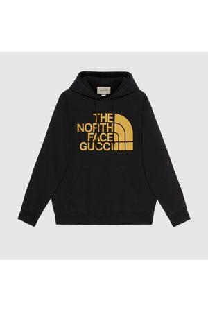 Gucci Herren Sweatshirts - Pullover mit The North Face x Web-Print