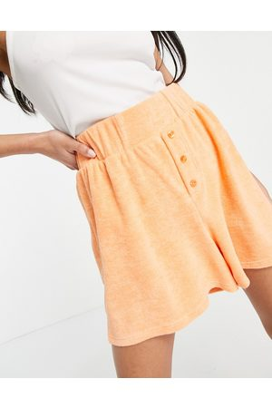 ASOS Tall boxer shorts in towelling-Brown