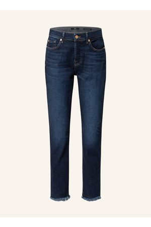 7 for all Mankind Damen Straight - 7/8-Jeans Asher