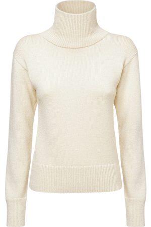 Jil Sander Damen Sweatshirts - Sweater Aus Alpaka- Und Wollstrick