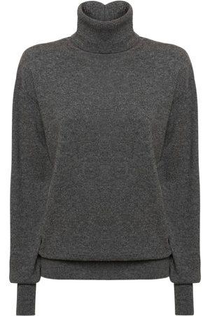 Jil Sander Damen Shirts - Rolkragensweater Aus Kaschmirstrick