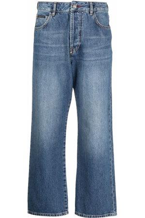 Philipp Plein Iconic Plein wide-leg jeans