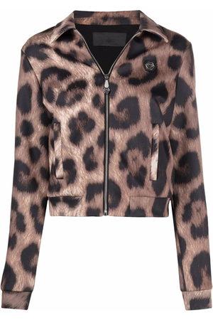 Philipp Plein Leopard-print jacket