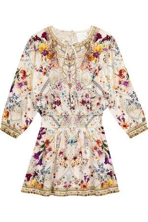 Camilla Mädchen Bedruckte Kleider - Bedrucktes Kleid mit Verzierung