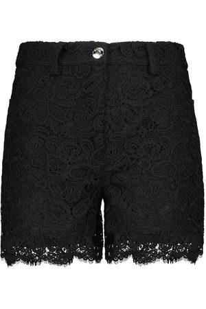 Staud Shorts Lena aus Baumwolle mit Spitze